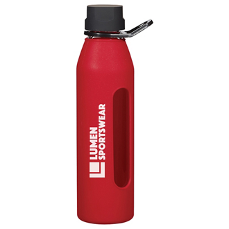 Customized Synergy Glass Sports Bottle - 24 oz