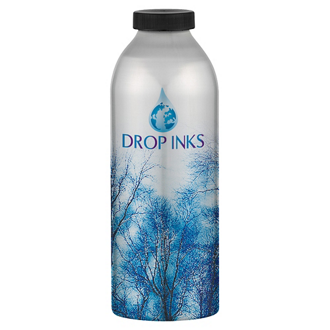 Customized Aluminum Water Bottle - Full Color - 20 Oz
