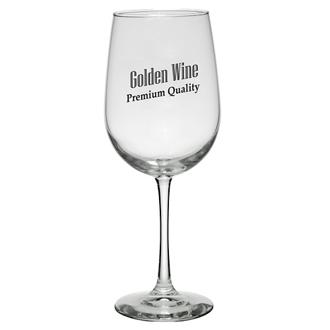 Customized Tall Wine Glass - 19 oz