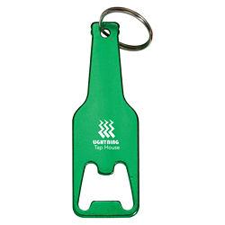 Customized Bottle Shaped Opener Keychain
