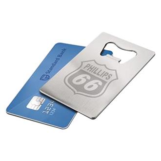 Customized Credit Card Bottle Opener