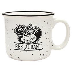 Customized Camper Collection Ceramic Mug - White - 14 oz