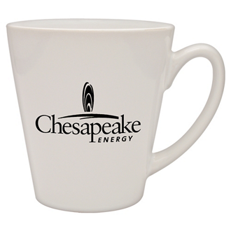 Customized Café Collection Ceramic Mug - White - 12 oz