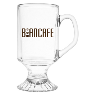Customized Irish Coffee Glass Mug - 11 oz