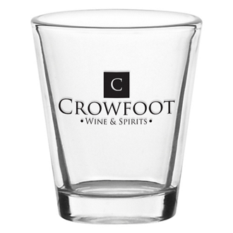 Customized Tapered Shot Glass - 1.75 oz