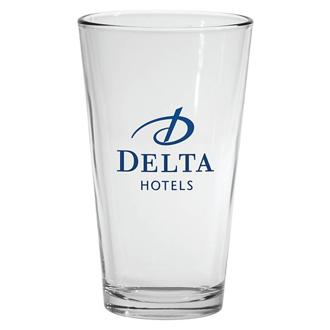 Customized Pint Glass - Clear - 16 oz
