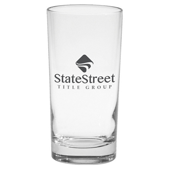 Customized Deluxe Beverage Glass - 12 oz