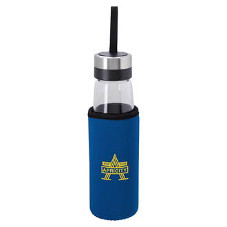 Customized Glass Bottle with KOOZIE® Kooler - 18 oz