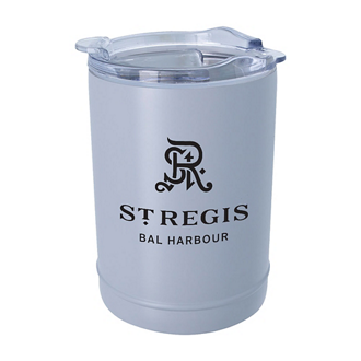 Customized 2-In-1 Beverage Holder and Tumbler