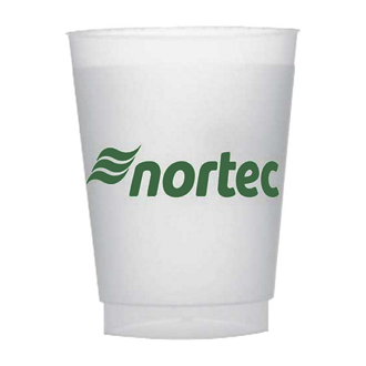 Customized Unbreakable Frosted Stadium Cup - 10 oz