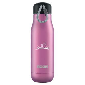 Customized ZOKU® Stainless Steel Vacuum Water Bottle - 18 oz