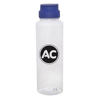 Customized Fun Run Bottle with Flip-Up Ring Handle - 23 oz