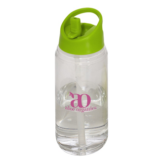 Customized 2 in 1 Skye Water Bottle w/ Detachable Cup & Straw