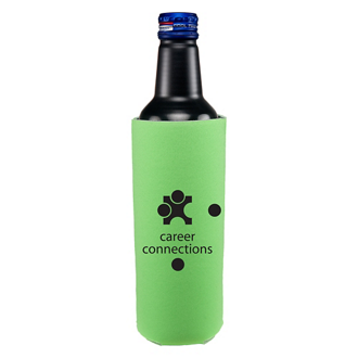 Customized 16 oz. Tall Bottle Cooler - One Sided Imprint