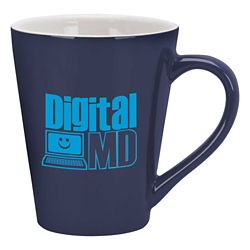 Customized 14 oz Designer Two-Tone Mug