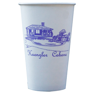 Customized 16 oz Hot/Cold Paper Cups - The 500 Line