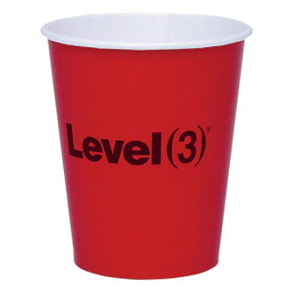 Customized Colorware 9 oz Paper Cup - The 500 Line
