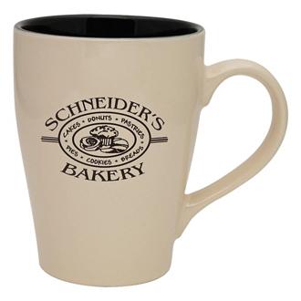 Customized Reactive Glaze Sherwood Ceramic Mug - 16 oz