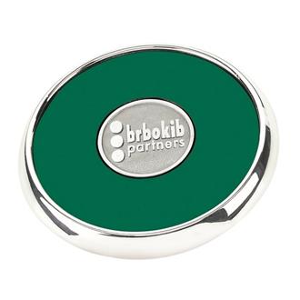 Customized Jaffa® Round Zinc Coaster