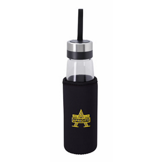 Customized KOOZIE® Glass Bottle w/KOOZIE® Kooler