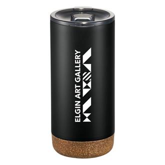 Customized Valhalla Copper Vacuum Tumbler with Cork - 16 oz