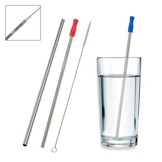 Customized Stainless Steel Straw with Cleaning Brush