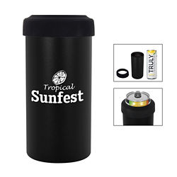 Customized 12 oz. Slim Stainless Steel Insulated Can Holder