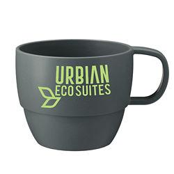 Customized 13 oz. Vert Wheat Straw Mug