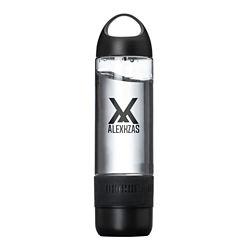 Customized 16 oz. Lombardy Bottle with Wireless Speaker