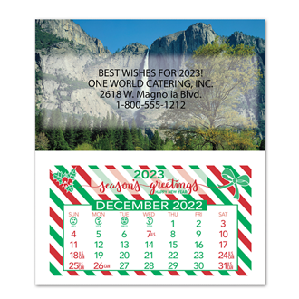 Customized Monthly Magnetic Calendar