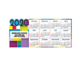 Customized Magnet Calendar with Year Die Cut 2019