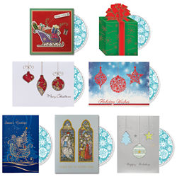 Customized Gifts & Ornaments Card with Personalized CD