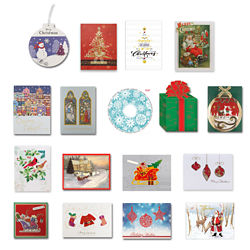 Customized Britebrand™ Holiday Card with Personalized CD