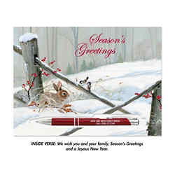 Customized Holiday Card with Paragon Pen