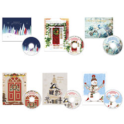 Customized Christmas Card with Matching CD