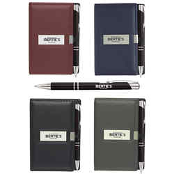Customized Nifty Note Caddy and Paragon Pen Set