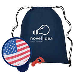 Customized Summer Trio Bundle w/Bag, Hand Fan & Bottle Opener
