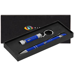 Customized Valentina Alpha Soft Touch Pen Gift Set