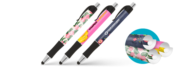 Design Wrap Pens Deliver Wraparound Branding