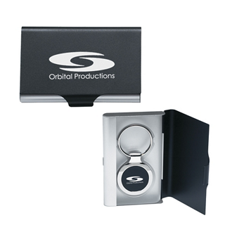 Customized 2 in 1 Key Tag Business Card Holder