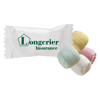 Customized Individually Custom Wrapped Mints or Candy