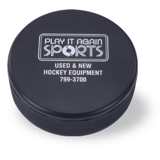 Customized Hockey Puck Stress Reliever