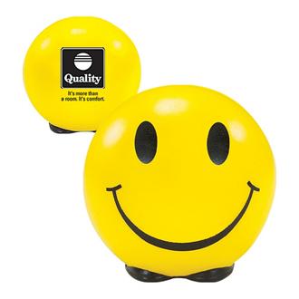Customized Stress Ball - Smiley