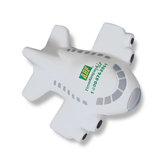 Customized Airplane Shaped Stress Ball