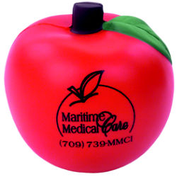 Customized Apple Stress Relievers