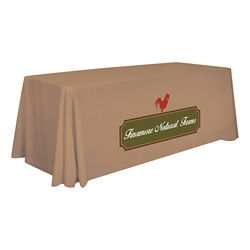 Customized Standard Table Throw 6'
