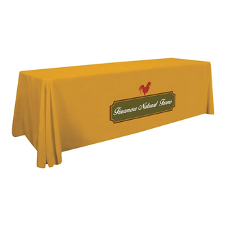Customized Standard Table Throw 8'