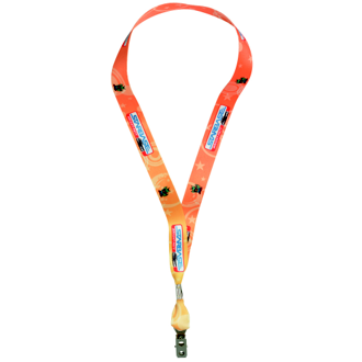 Customized Heavy Weight Satin Lanyard
