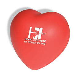 Customized Heart Shaped Stress Ball