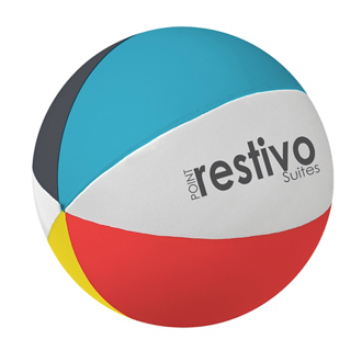Customized Beach Ball Shape Stress Reliever